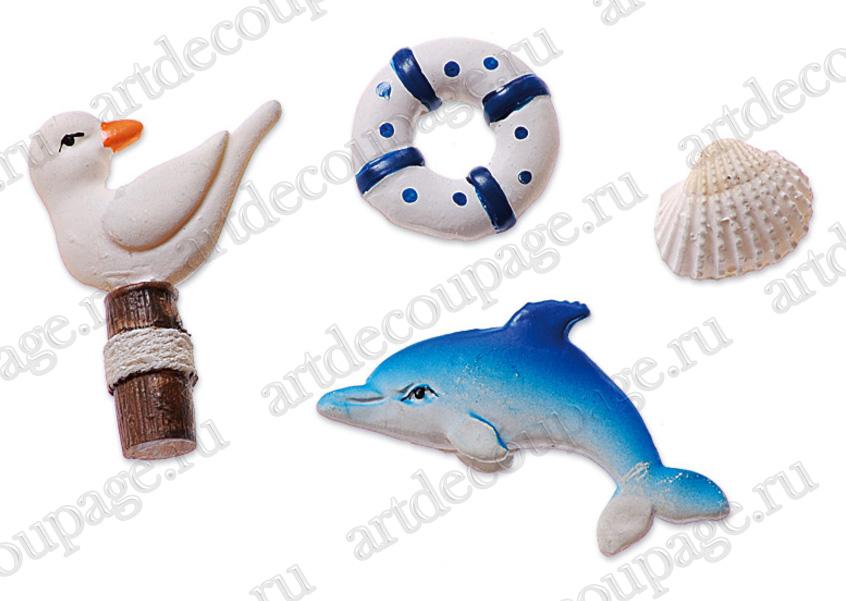 Украшения для скрапбукинга и декора Морские декорации, купить - интернет магазин АртДекупаж