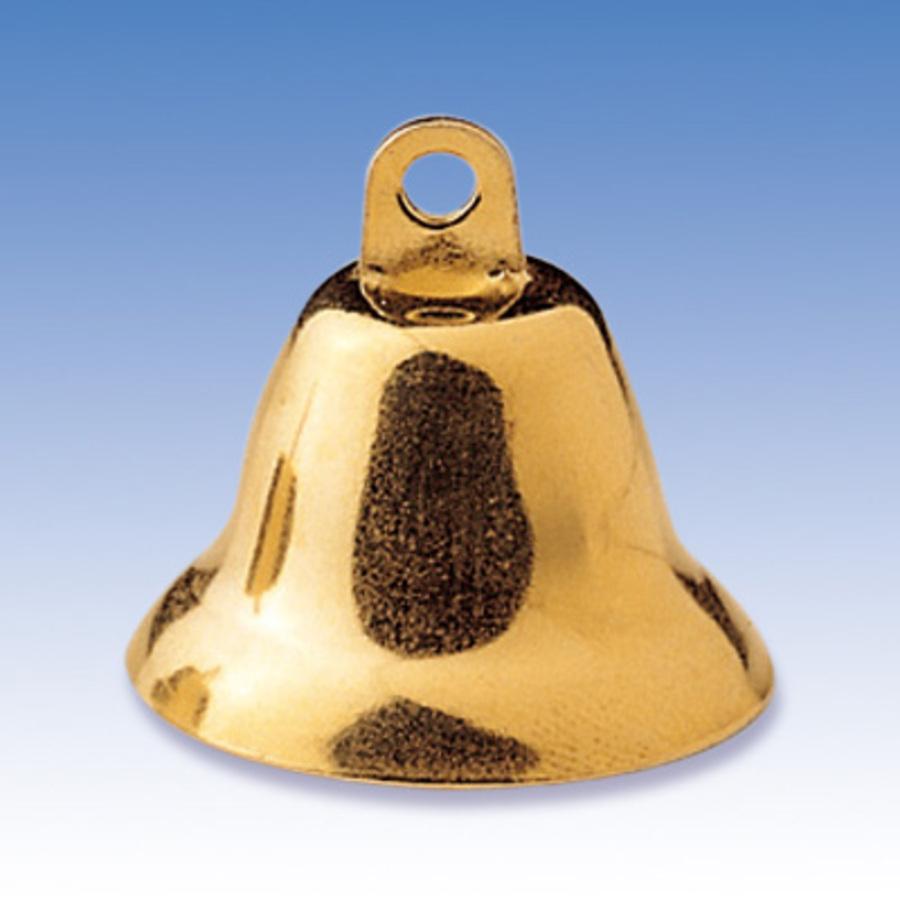 Колокольчики декоративные новогодние, золотистые для рукоделия, купить - магазин АртДекупаж