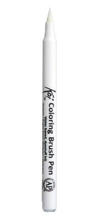 Акварельный маркер кисточка Koi для скрапбукинга блендер