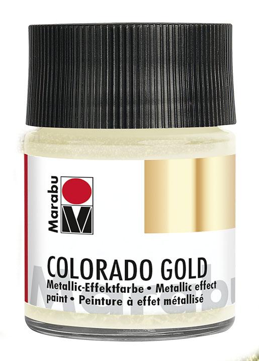 Краска с эффектом металла Marabu Colorado Gold 781 Античное серебро