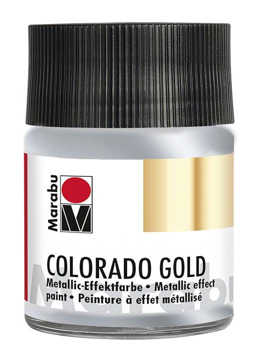 Краска с эффектом металла Marabu Colorado Gold 000