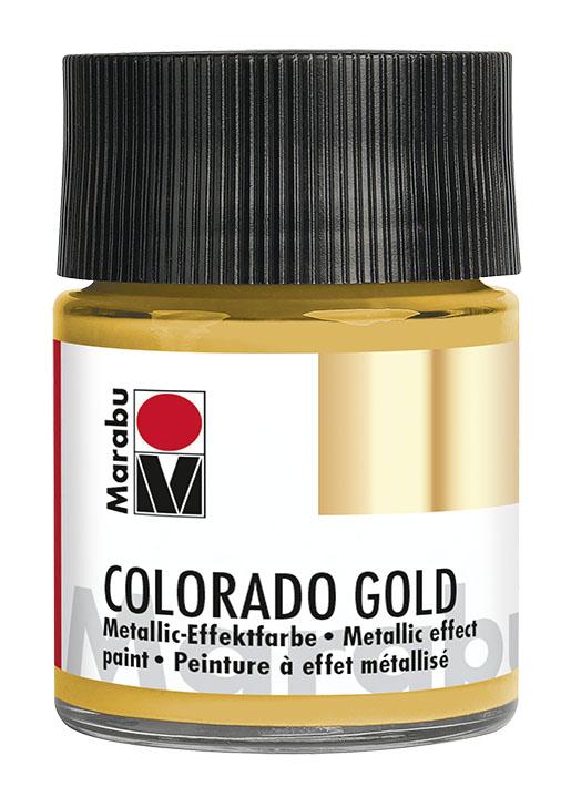 Краска с эффектом металла Marabu Colorado Gold 784 золото
