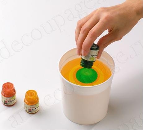 Краска для марморирования