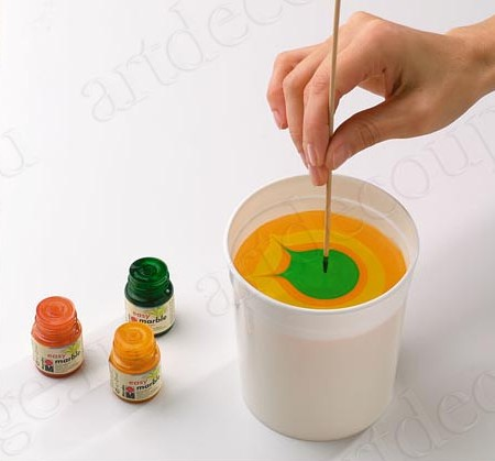 Краски для эффекта мрамора