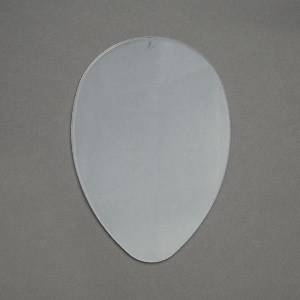Заготовка перегородка для яйца 8 см, прозрачный пластик
