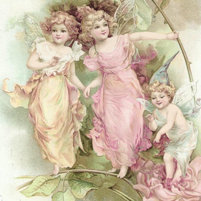 Салфетки для декупажа Цветочные феи Sagen Vintage Design купить