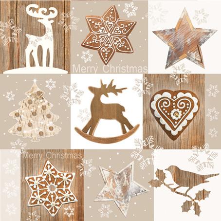 Салфетки для декупажа Новогодние, Счастливого Рождества