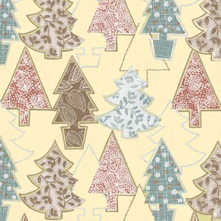 Салфетки для декупажа Новогодние елки