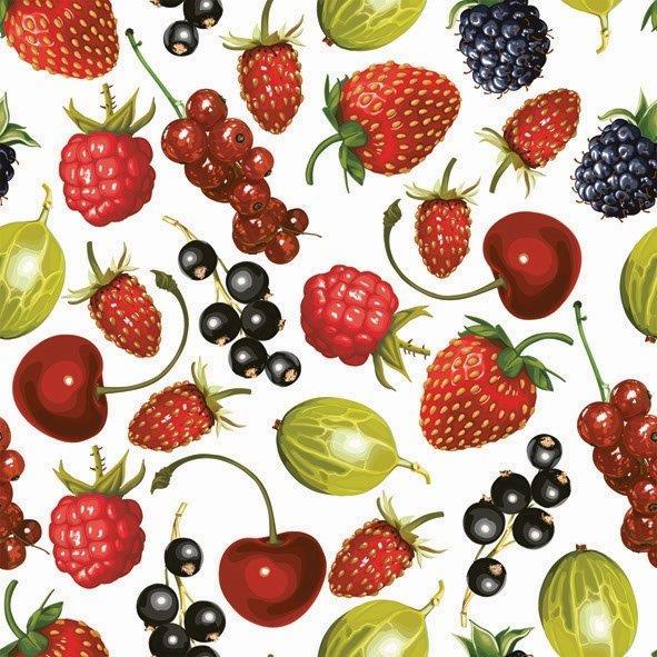 салфетка для декупажа POL-MAK Садовые ягоды