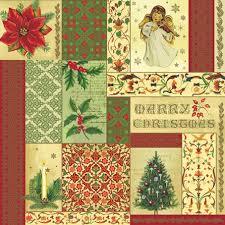 Салфетки новогодние для декупажа Рождественский коллаж