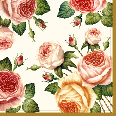 Салфетки для декупажа Розы, цветы, купить, Москва