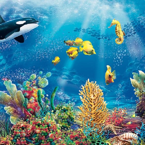 салфетки для декупажа Морские обитатели