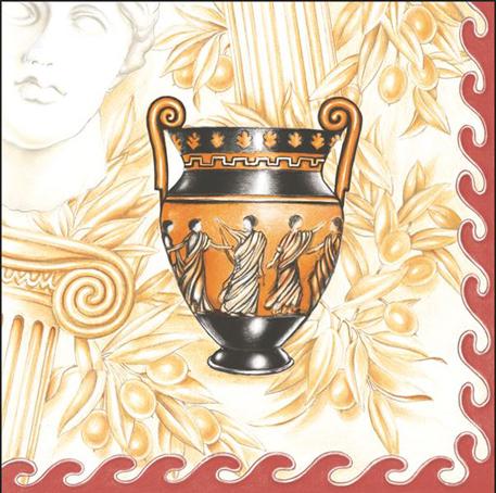 Салфетки для декупажа Греческая ваза
