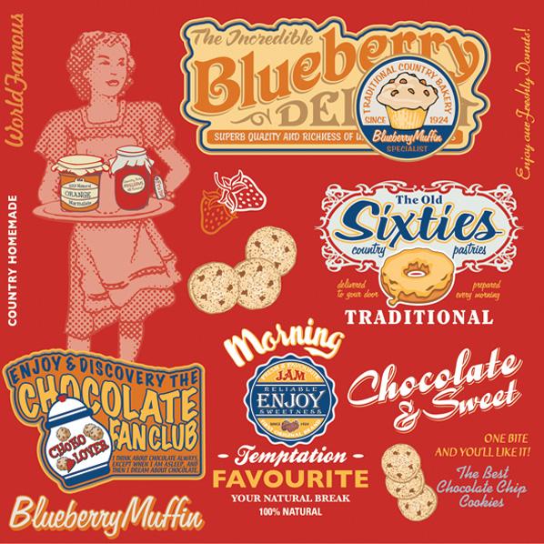 салфетки для декупажа Реклама сладостей, купить