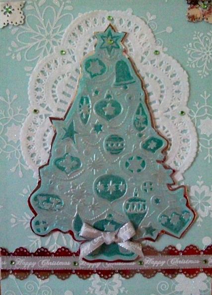 Бумага пергаментная веллум с блестящими снежинками, глиттер