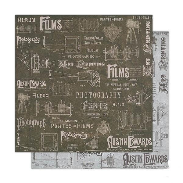 Бумага для скрапбукинга Фильмы Stamperia SBB250