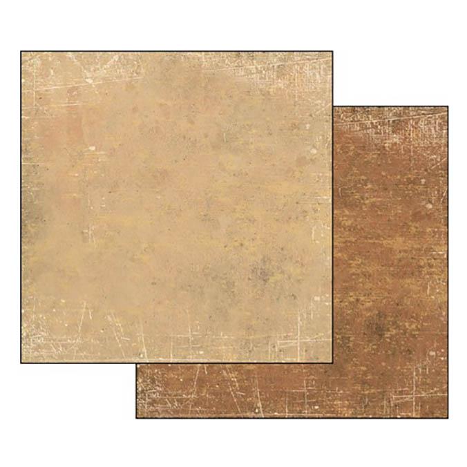 Бумага для скрапбукинга Текстура Ореховый и Коричневый Stamperia SBB342