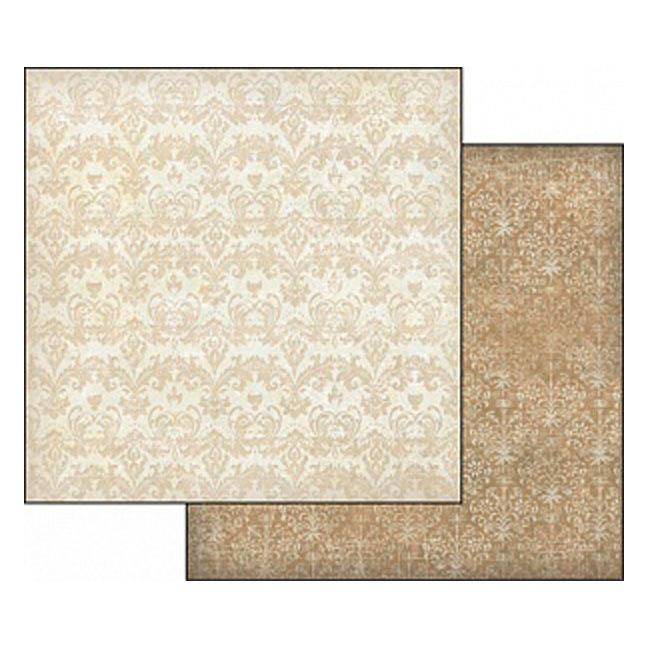 Бумага для скрапбукинга Орнамент Stamperia SBB344