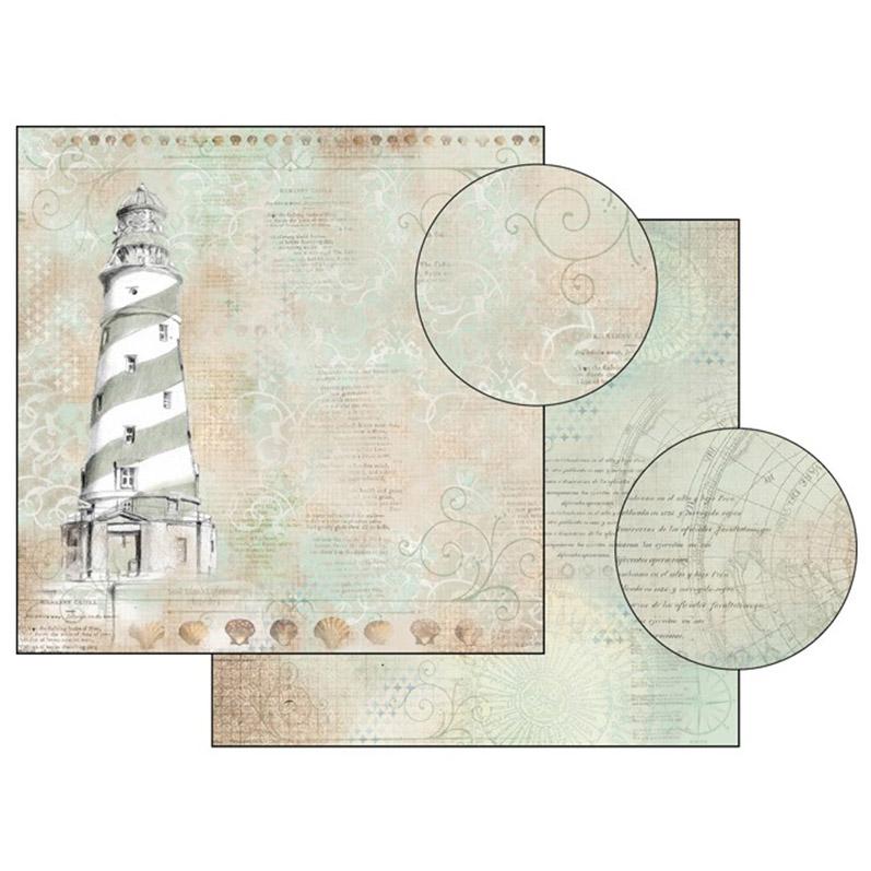 Бумага для скрапбукинга Маяк Stamperia SBB366