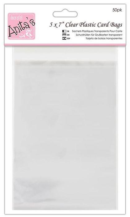 Упаковка для открыток - прозрачные пакеты с клеевым клапаном