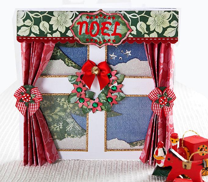 Колокольчики рождественские для скрапбукинга