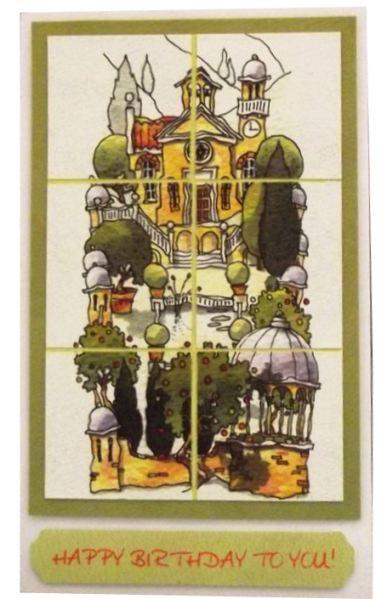 Высечка для скрапбукинга Тоскана, рисунки Майкла Пауэла (Michael Powell), купить - магазин Артдекупаж