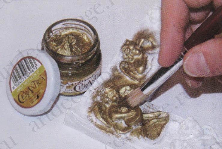Воск медный для эффекта состаренного металла Stamperia
