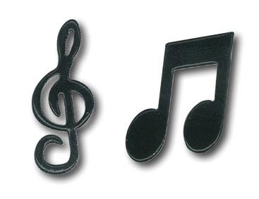 Брадсы для скрапбукинга Ноты, скрипичный ключ