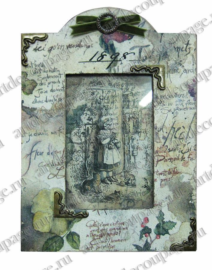 металлические накладные украшения для скрапбукинга уголки для рамочек - магазин АртДекупаж