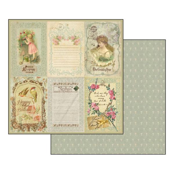 Бумага для скрапбукинга Винтажные открытки, Stamperia