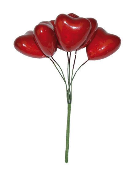 Сердечки букет для скрапбукинга и топиария