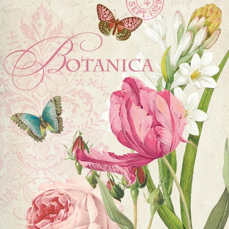салфетки для декупажа Ботаника, купить