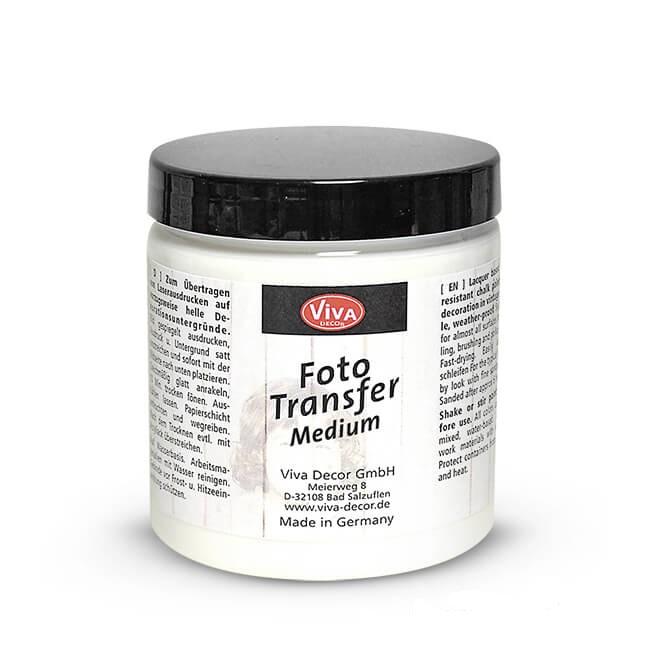 Трансферный клей для перевода изображений Foto Transfer Potch Viva Decor