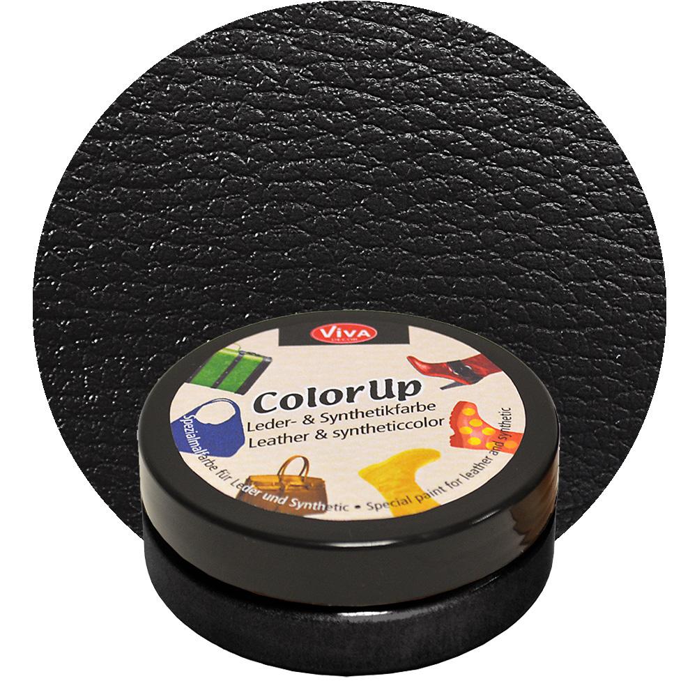 Краска для кожи и синтетики Color up Ченый