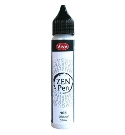 Краска для создания жемчужин Viva Zen Pen 101 белый перламутровый
