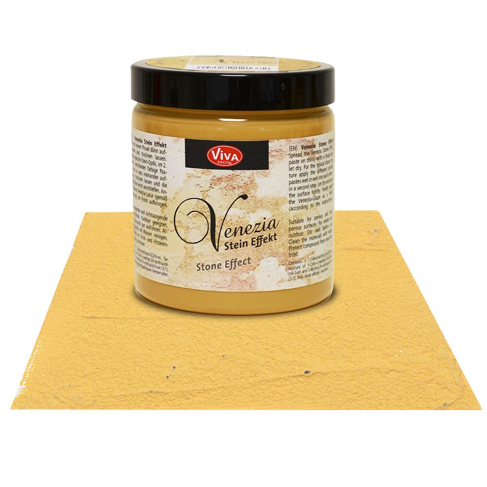 Краска-паста с эффектом венецианской штукатурки Viva Venezia 201 охра