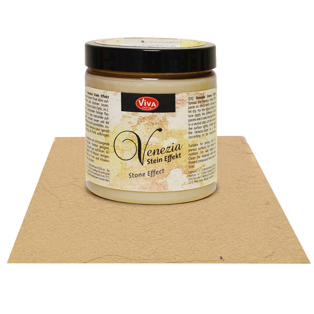 Краска-паста с эффектом венецианской штукатурки Viva Venezia 453 сепия