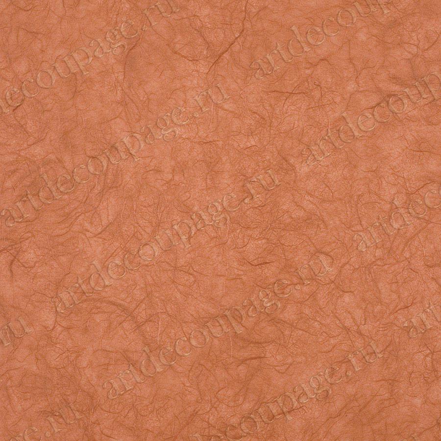 однотонная рисовая бумага для декупажа оранжевая без рисунка