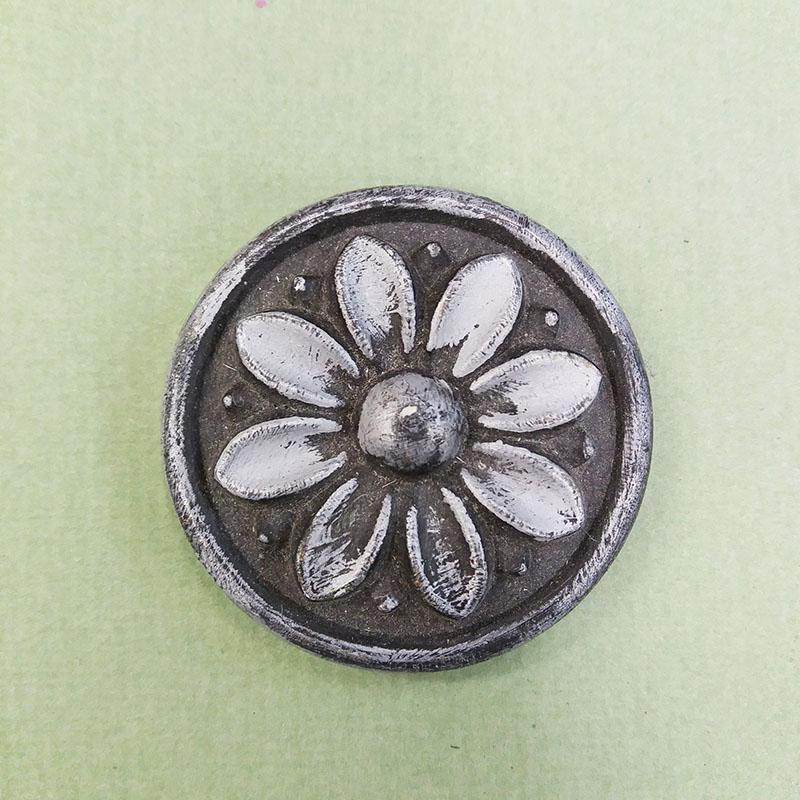 Металлизированный воск Матовое серебро Италия