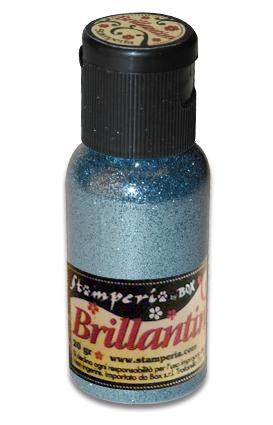 Микроблестки голубые, глиттер, Stamperia K3GP32