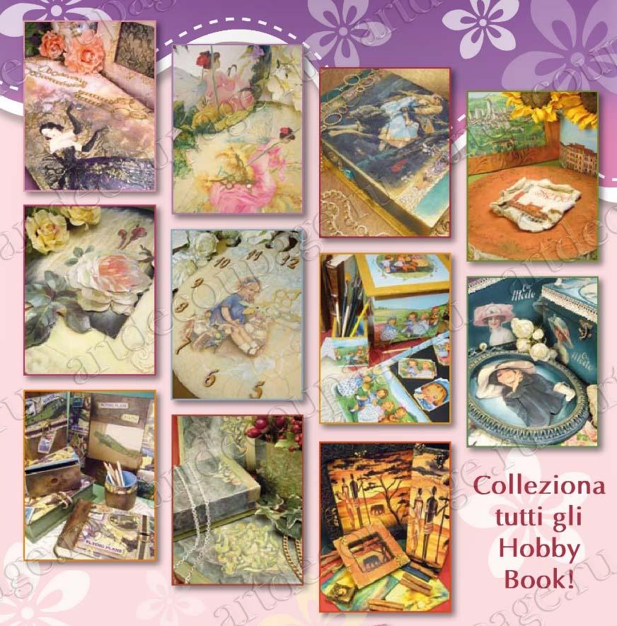 "Журнал ""Hobby Book"" № 42 Stamperia на русском языке - мастер-классы по декупажу"