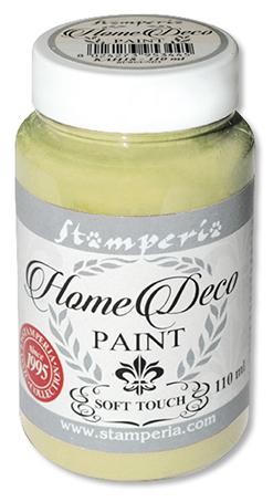 Краска меловая Home Deco зеленый шалфей Stamperia KAH06
