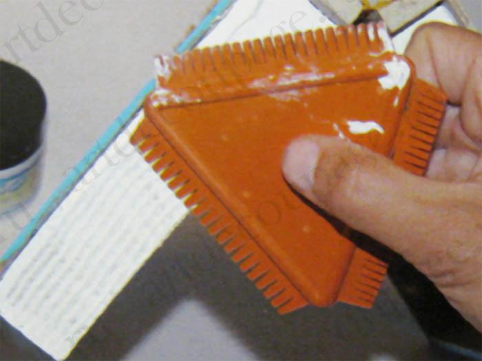 Гребень, инструмент для работы с моделирующими объемными пастами KR94,купить - магазин АртДекупаж