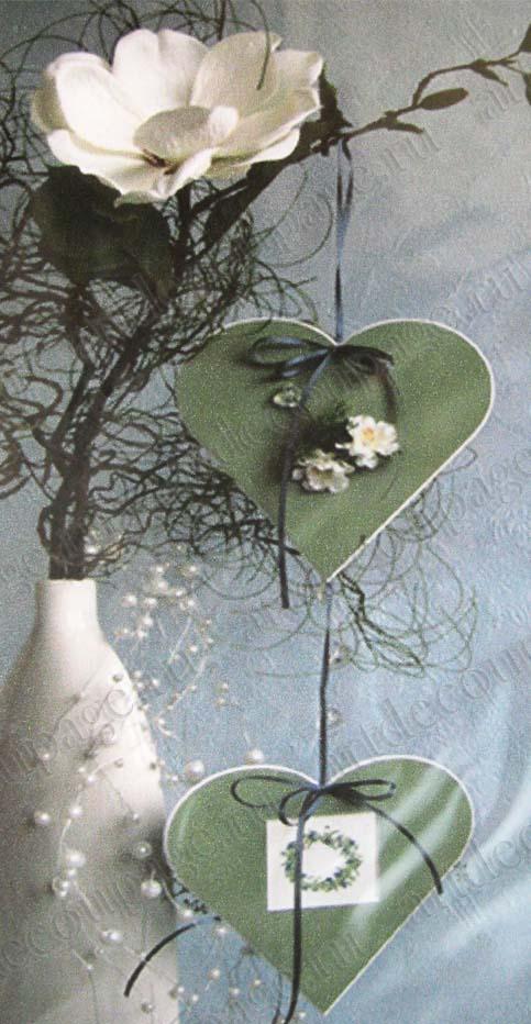 Декоративные рамки паспарту, бежево-серый картон, форма сердце купить Артдекупаж