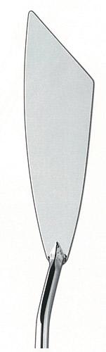 Мастихин в форме лопатки, широкое лезвие с косым срезом, инструмент для густых красок