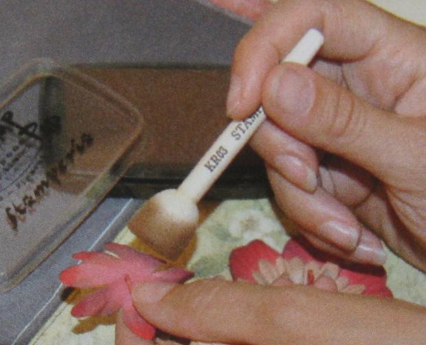 Спонж кисть для растушевки и нанесения красок, купить - магазин АртДекупаж