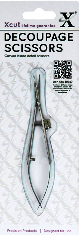Ножницы пинцетные для вырезания декупаж хобби, DoCrafts