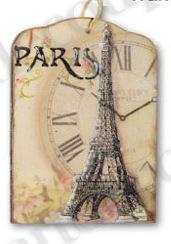 Переводные декупажные карты Париж, купить