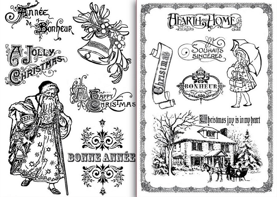 Переводные декупажные карты, Счастливого Рождества, орнамент, трансферные картинки, Stamperia DFTR019,купить