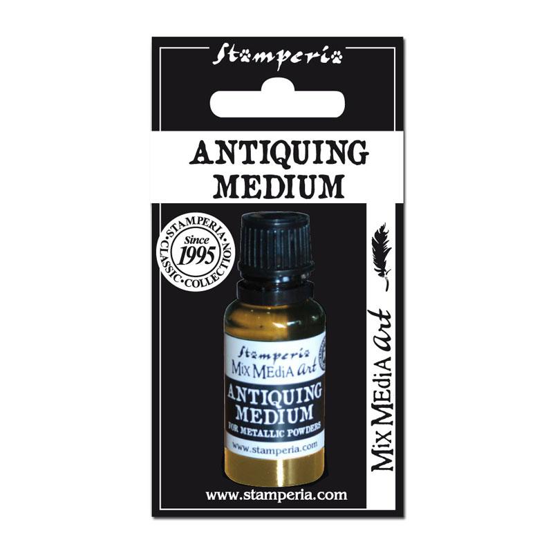 """Медиум """"Antiquing Medium"""" для металлической пудры"""